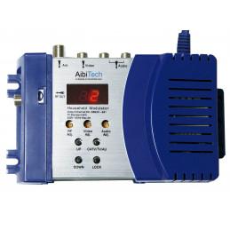 Modulador Household TV Modulator CATV AV04H, para Sistemas NSTC