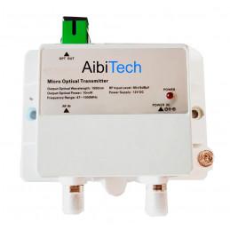 Transmisor Fibra Optica FTTH Micro Optical Transmitter 1015-10mw, CATV 1550nm 10mW Bajo Ruido Frecuencia 47-1000Mhz