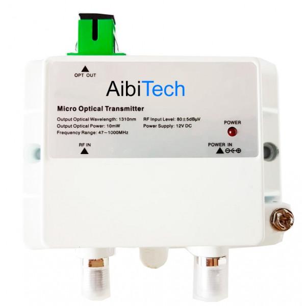 Transmisor Fibra Optica FTTH Micro Optical Transmitter 1013-10mw, CATV 1310nm 10mW Bajo Ruido Frecuencia 47-1000Mhz