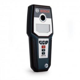 Detector de materiales Bosch GMS120, Detector De Metales Cables Madera y otros objetos Alcance 12cm de profundidad.