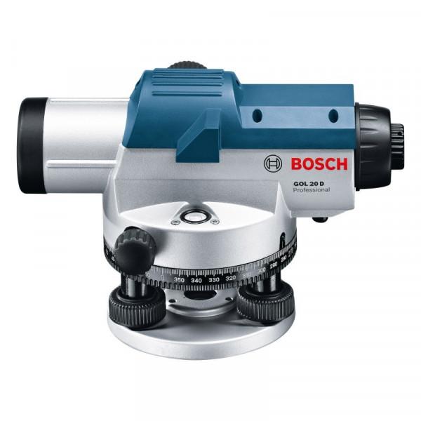 Nivel Laser Bosch GOL 26 D, Alcance 100m Proyecta dos líneas de 90° una tercera línea de 45° para alineación