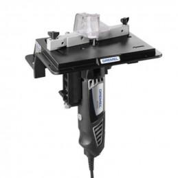 Mesa para Fresado Dremel 231, Facilita montaje de la herramienta y ajuste de profundidad