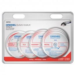 Discos De Corte Dremel Saw-Max S700, Kit de 7 Discos de Corte