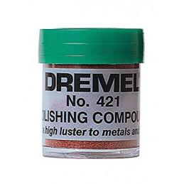 Pasta para Pulir Dremel 421, Ideal para pulir Plastico y metal