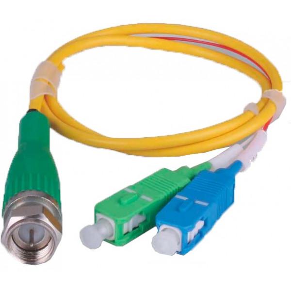 Receptor Micro optical receiver 1000W, 1310/1490nm convierte a RF para CATV WDM incorporado ONU EPON GPON GEPON