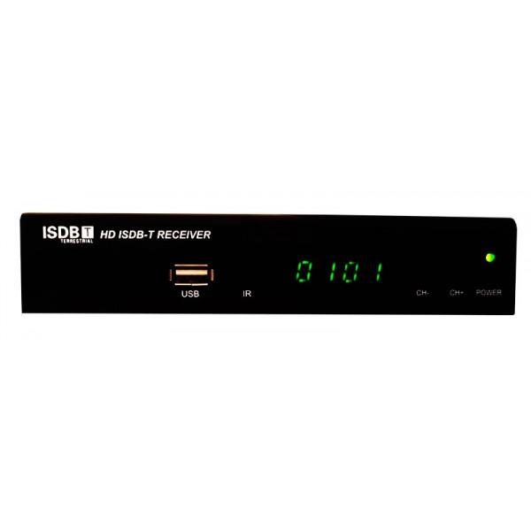 Sintonizador de Television Digital ISDB-T Decodificador TDT HD con PVR Entradas AV y HDMI, TDT300HD AibiTech