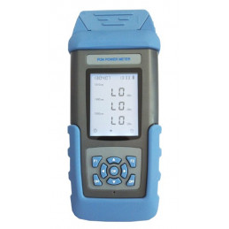 PON Optical Power Meter Medidor de Potencia Fibra Optica SC/APC Portable 1490nm 1550nm 1310nm Redes FTTX, ST805CB SENTER