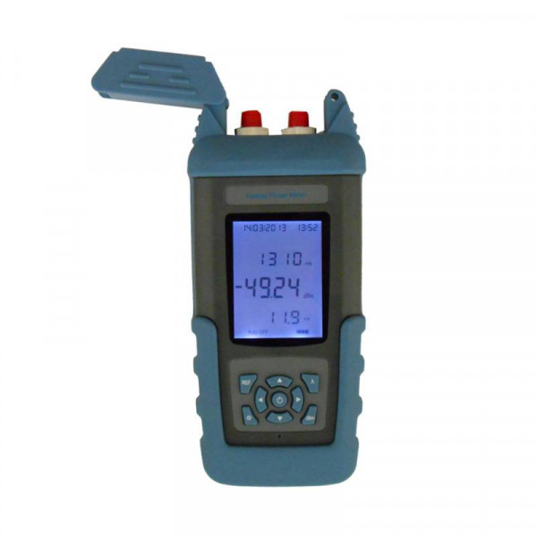 PON Optical Power Meter Medidor de Potencia Fibra Optica and Laser Source Portable 800 - 1700nm Multi meter FTTX, ST801BB SENTER