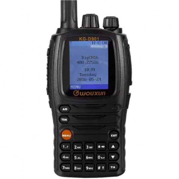Radio Wouxun KG-UV9D Plus 5W, UHF VHF Alcance 5-10km Bidireccional Transmision doble Banda con Repetidor y Escaner