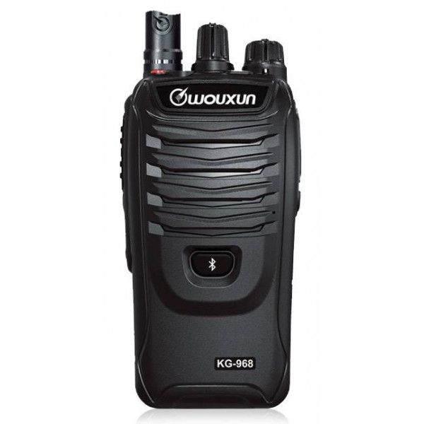 Radio Wouxun KG-968 10W, UHF alcance 5km-10km Bidireccional con Bluetooth IP66 Resistente al polvo y al agua