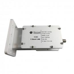 LNB Banda C Norsat 3120C, 20K PLL 3.6 - 4.2GHz Alta Estabilidad Ganancia 62dB High Stability C-Band