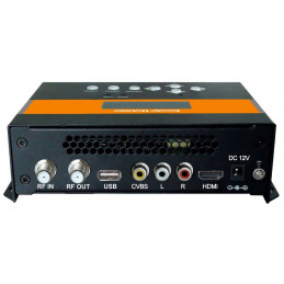 Modulador Digital Alta Definicion ISDB-T HD SD, MPEG-4 AVC/H.264 Enconder ISDBT RF out, 3522B AibiTech