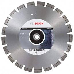 "Disco de corte para Asfalto Bosch Best 14"" 355mm, Diamantado Uso en Hormigon y asfalto 2608603641"