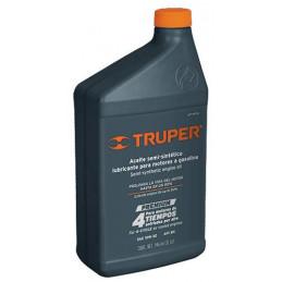 Aceite Semi Sintetico 1L SAE 10W-30 Para motor 4 Tiempos Generadores Motos Cuatrimotos, ACT-4T-32 14929 Truper