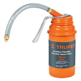 Aceiteras con aplicador flexible boquilla con punta de laton 180 ml, ACEF-180 14870 Truper