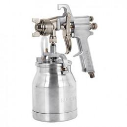 Pistola de Aire para Pintar de Succion 50PSI Vaso 1L Alto Volumen y Presion uso Industrial, PIPI-310 14087 Truper