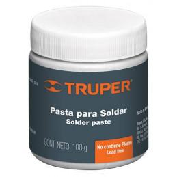 Pasta para soldar 100g petrolato y ácido de cloruro de zinc, PASO-100 19338 Truper