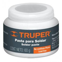 Pasta para soldar 60g petrolato y ácido de cloruro de zinc, PASO-60 19337 Truper
