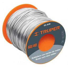 Soldadura con Nucleo de Resina 450g 1mm 60/40 Estaño Plomo, para Electronica, SOL-60/40 14366 Truper