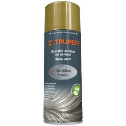 Pintura en Spray Ultracraft Oro Metalico, 400ml, secado rapido libre de Plomo, PA-OR-U 40028 Truper