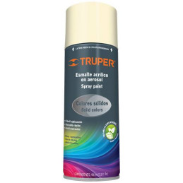 Pintura en Spray Ultracraft Marfil, 400ml, secado rapido libre de Plomo, PA-MA-U 40025 Truper