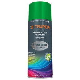 Pintura en Spray Ultracraft Verde Irlandes, 400ml, secado rapido libre de Plomo, PA-VI-U 40026 Truper