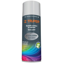 Pintura en Spray Ultracraft Gris, 400ml, secado rapido libre de Plomo, PA-GR-U 40032 Truper