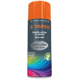 Pintura en Spray Ultracraft Naranja, 400ml, secado rapido libre de Plomo, PA-NA-U 40036 Truper