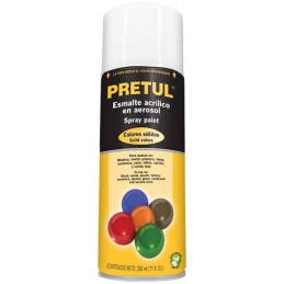 Pintura en Spray Ultracraft Blanco Brillante, 400ml, secado rapido libre de Plomo, PA-BB-U 40022 Truper
