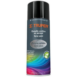 Pintura en Spray Ultracraft Negro Mate, 400ml, secado rapido libre de Plomo, PA-NM-U 40034 Truper
