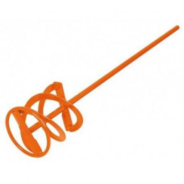 "Revolvedor de Pintura Diametro 10cm altura 55cm zanco 3/8"", para uso con taladro, REV-20 15824 Truper"