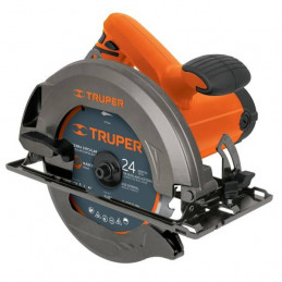 Sierra Circular Profesional 1500W 5500RPM Incluye Disco 24D, SICI-7-1/4A3-2 11005 Truper