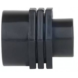 """Niple Reducido PP roscado 1 1/2"""" x 1"""" Bolsa 25 unidades Conexion para Tuberias HDPE, 13653 Poelsan"""
