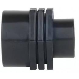 """Niple Reducido PP roscado 1"""" x 3/4"""" Bolsa 50 unidades Conexion para Tuberias HDPE, 13632 Poelsan"""