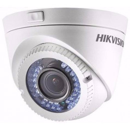 Camara Domo Hikvision DS-2CE56C0T-VFIR3F Analogo output HD720P 1MP Dia y Noche IR40M IP66