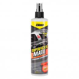 Protector de Interiores Superficies Mate 300ml Neutro Limpia Protege Tableros y tapiceria cuero plastico vinilo, 033195 SIMONIZ