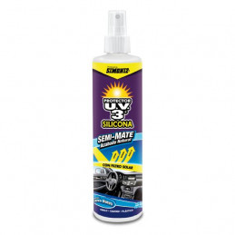Protector de Interiores Silicona 300ml Semi Mate carro nuevo Brillo con UV3, 030583 SIMONIZ