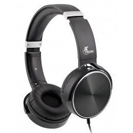 Audifonos Auriculares Alambrico Xtech XTH-345 SPIRAL Audífonos estéreo con cable y micrófono