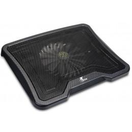 Base Refrigeracion Enfriadora Xtech XTA-150 para Laptop 14'' 1 Ventilador 700RPM, Negro 2 USB