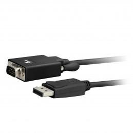 Adaptador DisplayPort a VGA Xtech XTC-342 DisplayPort macho a VGA macho 1.8M