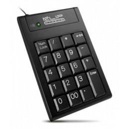 Teclado Numerico USB Klip Xtreme KNP-100 Abacus 19 Teclas negro