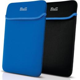 "Funda para Portatil Klip Xtreme KNS-415BL Reversible de Neopreno 15.6"" Negro Azul"