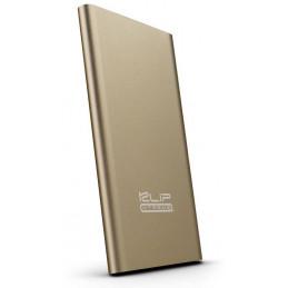 Cargador Bateria Portatil Klip Xtreme KBH-155GD 5000mAh Enox5000 oro