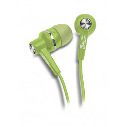 Auriculares In-ear Klip Xtreme KSE-105GN Auriculares estéreo en color para iPod y MP3s 3.5mm Verde