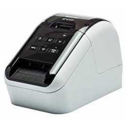 Etiquetadora Brother QL-810W, Termica Directa Portatil Compatible con Dispositivos Moviles Imprime 2 Colores WIFI