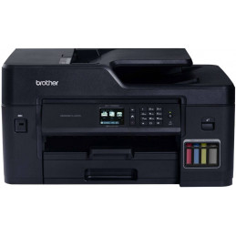 Impresora de tinta continua Brother MFC-T4500DW, Multifuncional 35ppm A3 22ppm Scaner Copiadora Fax ADF 50Pag. Wifi USB