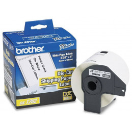 Etiqueta Pre-Cortada Brother DK-1202, 62 x 100mm Rotuladora QL-550 1060 Cinta 300 labels