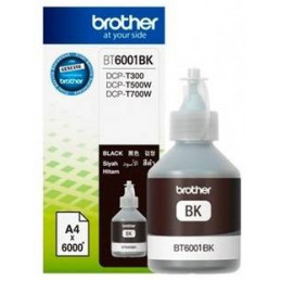 Botellas de Tinta Brother BT6001BK Black, sistema continuo DCP-T300 DCP-T500W DCP-T700W