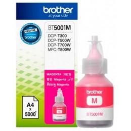 Botellas de Tinta Brother BT5001M Magenta, sistema continuo DCP-T300 DCP-T500W DCP-T700W