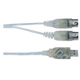 Cable de Instrumento SoundKing MD300, usb a Midi PC o Mac a través de la interfaz USB
